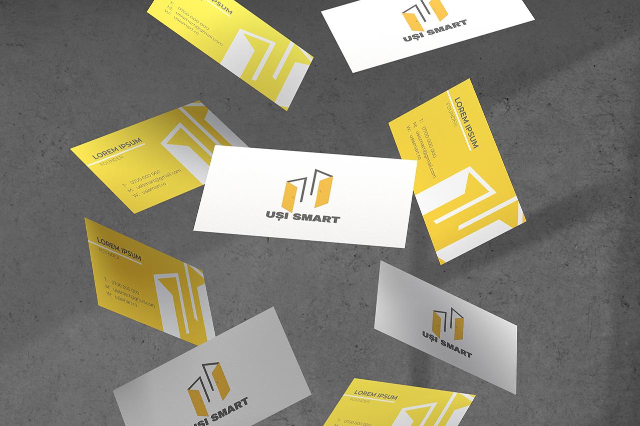 Uși Smart - Logo design