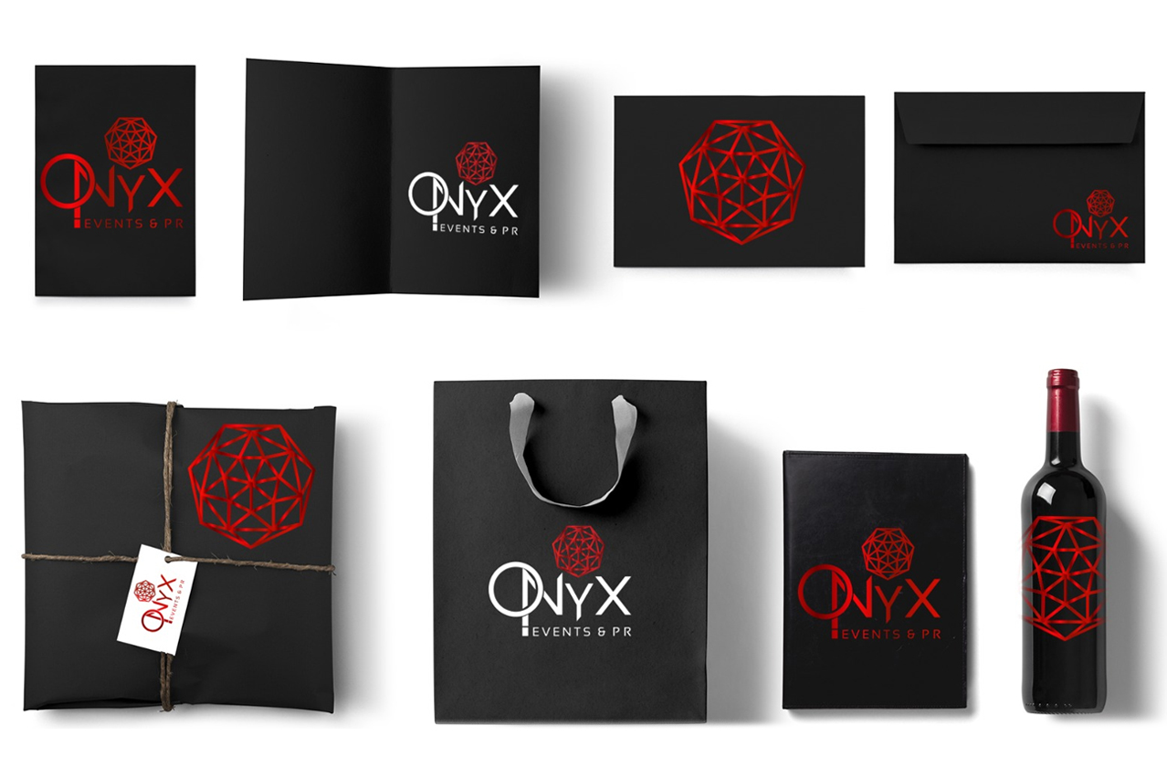 Onyx Events & Pr - Logo design